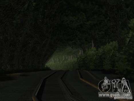 Forest in Las Venturas for GTA San Andreas fifth screenshot