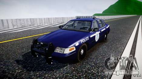 Ford Crown Victoria Homeland Security [ELS] for GTA 4