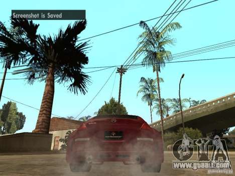 Nissan 350Z Tokyo Drift for GTA San Andreas