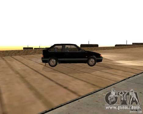 VAZ 2113 for GTA San Andreas back left view