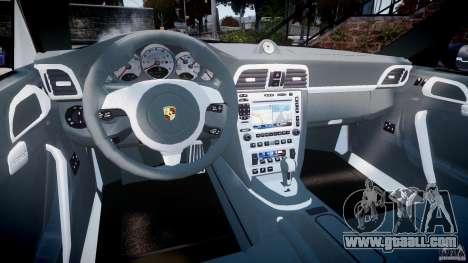 Porsche 911 (997) Turbo v1.1 [EPM] for GTA 4 back view