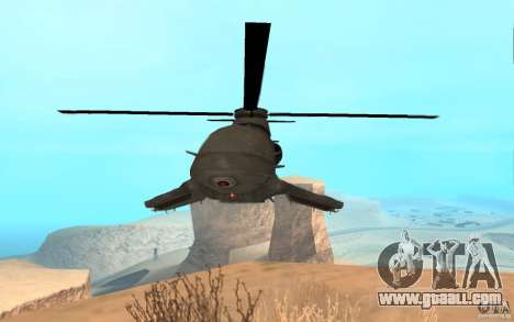 Scout Drone from BO2 for GTA San Andreas back left view