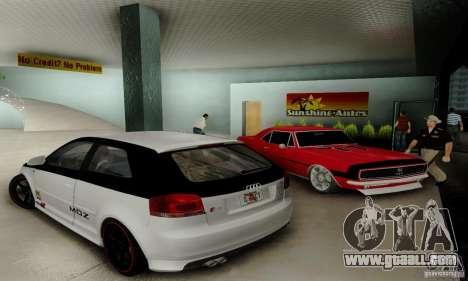 Audi S3 for GTA San Andreas