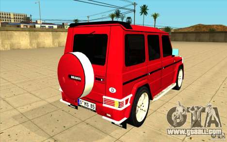 Mercedes-Benz G500 Brabus for GTA San Andreas side view