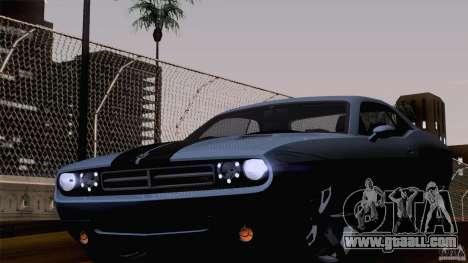 Dodge Challenger SRT8 for GTA San Andreas left view