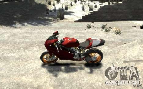 Ducati 999R for GTA 4 left view