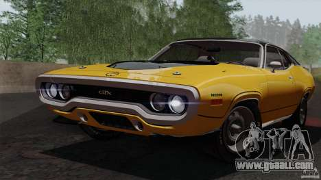 Plymouth GTX 426 HEMI 1971 for GTA San Andreas