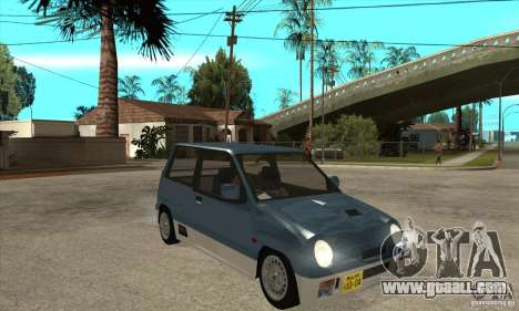 Suzuki Alto Works for GTA San Andreas back view