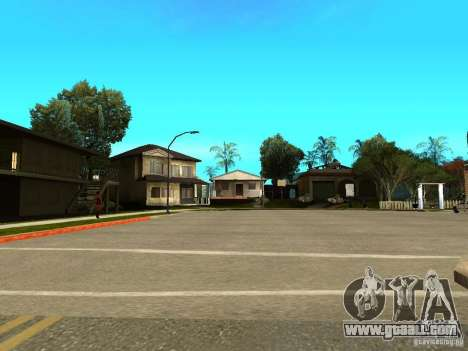 New Grove Street TADO edition for GTA San Andreas sixth screenshot