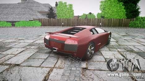 Lamborghini Murcielago v1.0b for GTA 4 back left view