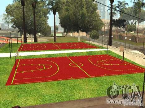 Basketball Court for GTA San Andreas