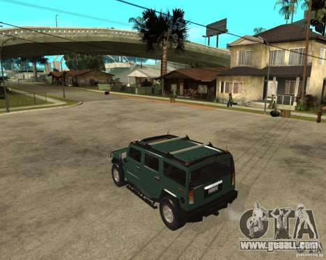 AMG H2 HUMMER SUV for GTA San Andreas left view