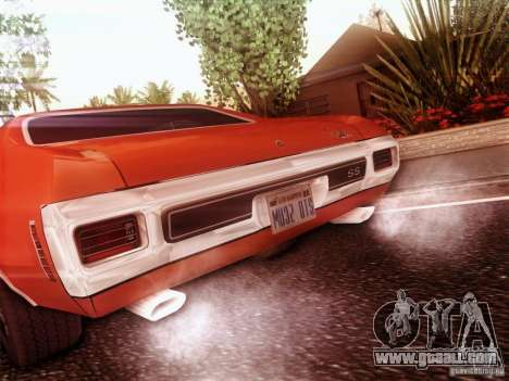 Chevy Chevelle SS 1970 for GTA San Andreas left view