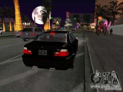 BMW M3 GT-R Stock for GTA San Andreas right view