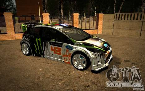 Ford Fiesta Gymkhana Four for GTA San Andreas