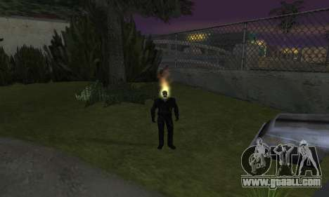 Ghost Rider for GTA San Andreas forth screenshot