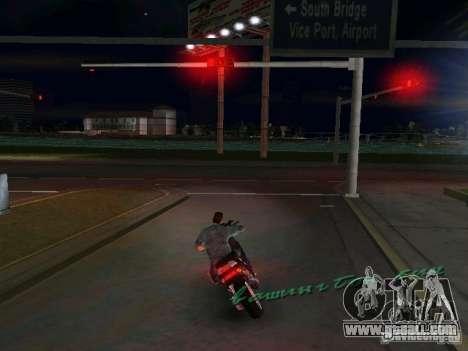 PIAGGIO NRG MC3 for GTA Vice City left view