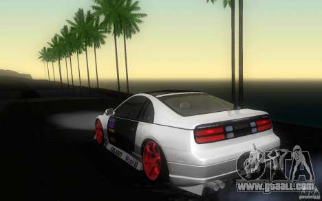 Nissan 300ZX for GTA San Andreas right view