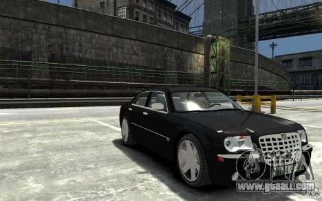 Chrysler 300C for GTA 4 back view