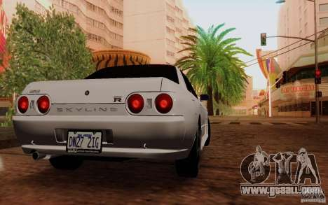 Nissan Skyline GT-R R32 1993 Tunable for GTA San Andreas right view
