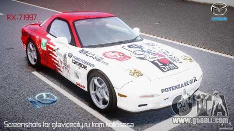Mazda RX-7 1997 v1.0 [EPM] for GTA 4
