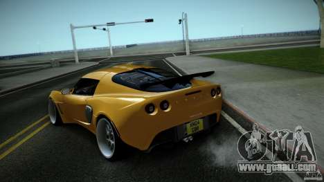 Lotus Exige Track Car for GTA San Andreas right view