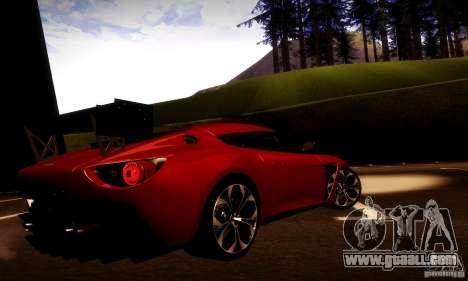 Aston Martin V12 Zagato Final for GTA San Andreas side view