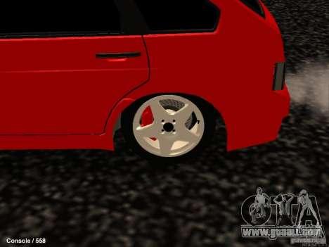 VAZ 2109 Opera Turbo for GTA San Andreas back view