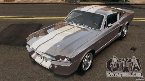 Shelby Mustang GT500 Eleanor 1967 v1.0 [EPM] for GTA 4