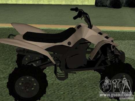 Ducati Quad HQ 110cc for GTA San Andreas right view