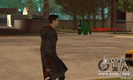 Dante from Devil May Cry for GTA San Andreas third screenshot