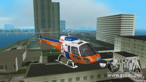Eurocopter As-350 TV Neptun for GTA Vice City left view