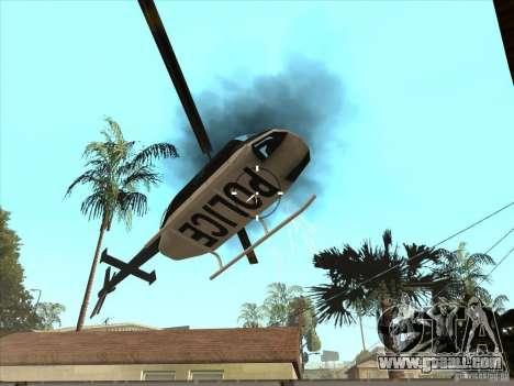 The CLEO script: machine gun in GTA San Andreas for GTA San Andreas forth screenshot