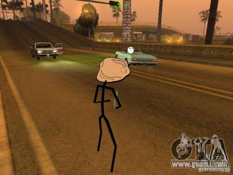 Meme Ivasion Mod for GTA San Andreas seventh screenshot