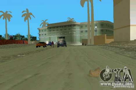 Snow Mod v2.0 for GTA Vice City