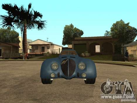 Alfa Romeo 2900B LeMans Speciale 1938 for GTA San Andreas right view
