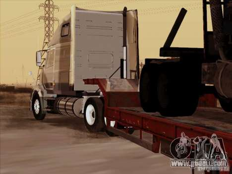 Volvo VNL 670 trailer for GTA San Andreas right view