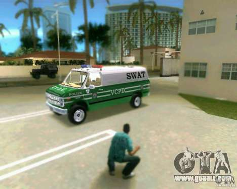 Chevrolet Van G20 for GTA Vice City left view