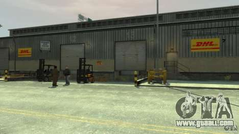 DHL-Port for GTA 4 fifth screenshot