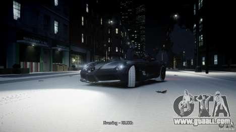 Mercedes Benz McLaren SLR Stirling Moss for GTA 4