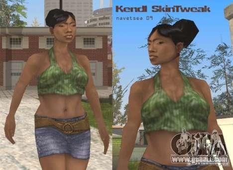 Reteksturizaciâ characters for GTA San Andreas fifth screenshot