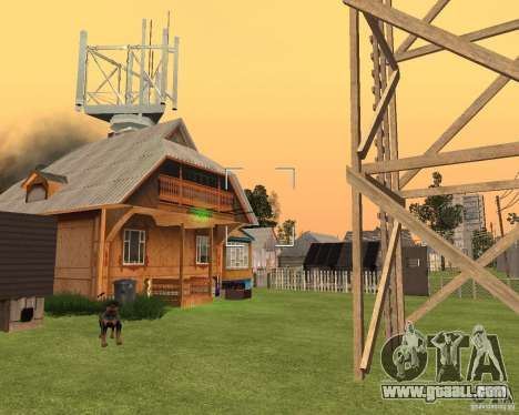 Base Gareli for GTA San Andreas forth screenshot