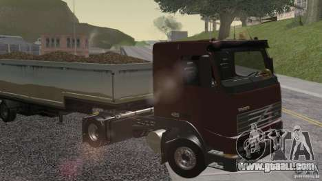Volvo FH12 for GTA San Andreas side view