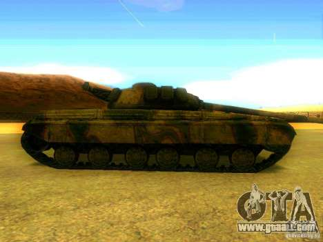 Tank game S. T. A. L. k. e. R for GTA San Andreas left view