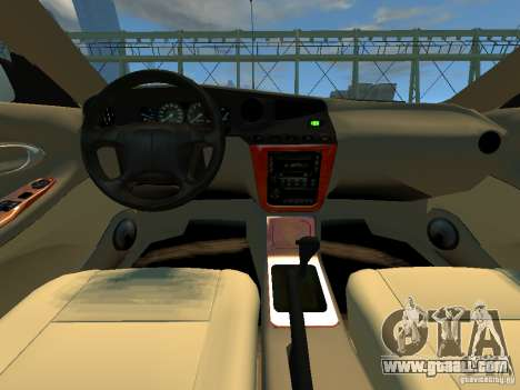 Daewoo Leganza CDX for GTA 4 back view