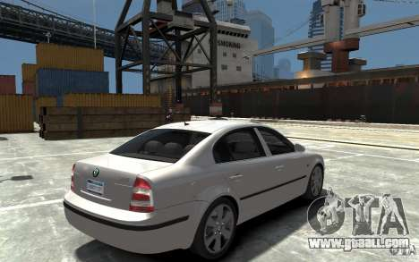 Skoda SuperB for GTA 4 right view