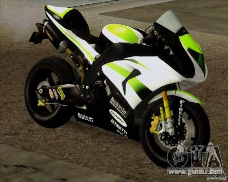 Kawasaki ZX-10R for GTA San Andreas