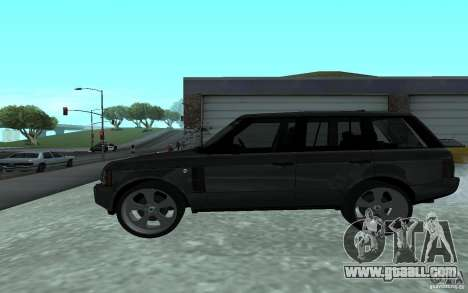 Land Rover Supercharged for GTA San Andreas left view