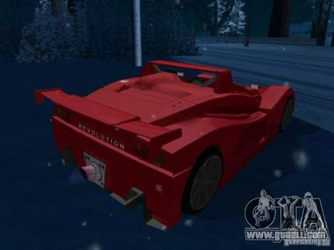 Lada Revolution for GTA San Andreas back left view
