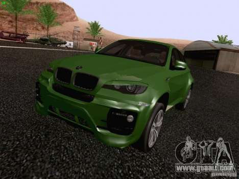 BMW X6 LT for GTA San Andreas